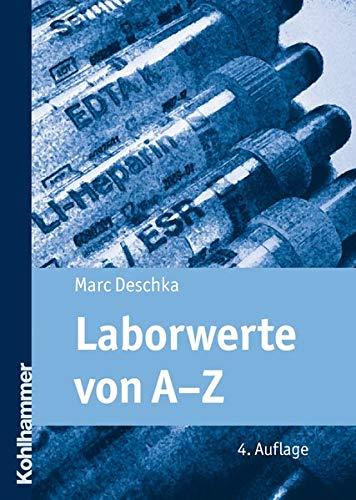 9783170219168: Laborwerte Von A-Z (Pflegekompakt) (German Edition)