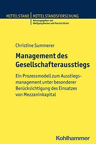 Management des Gesellschafterausstiegs: Christine Summerer