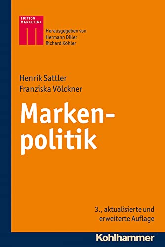 9783170223462: Markenpolitik (Kohlhammer Edition Marketing) (German Edition)
