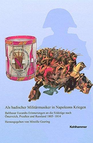 9783170230316: Als badischer Militärmusiker in Napoleons Kriegen