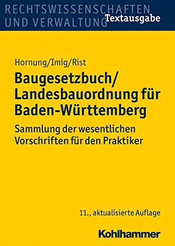 9783170233041: Baugesetzbuch/Landesbauordnung für Baden-Württemberg