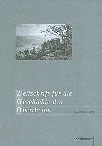 9783170299535: Zeitschrift für die Geschichte des Oberrheins