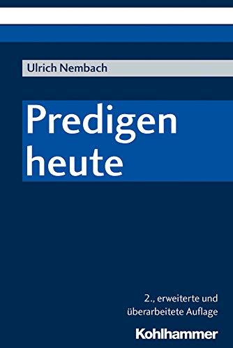 Predigen heute: Ulrich Nembach
