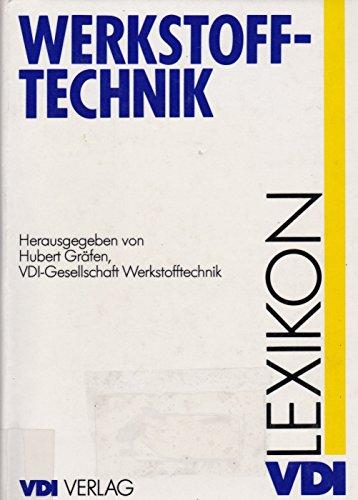 9783184008932: VDI-Lexikon Werkstofftechnik