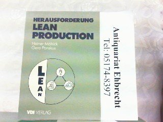 9783184012731: Herausforderung Lean Production