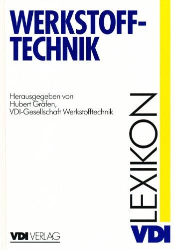9783184013288: VDI-Lexikon Werkstofftechnik