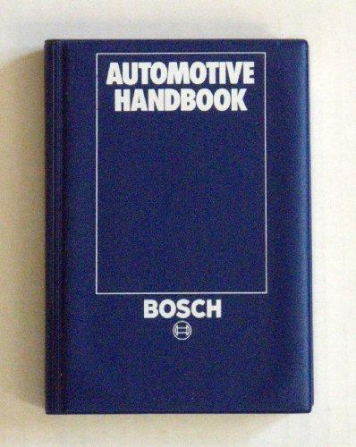 9783184180041: Automotive handbook