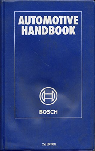 9783184180065: Automotive Handbook