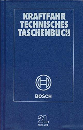 9783184191146: Bosch Kraftfahrtechnisches Taschenbuch
