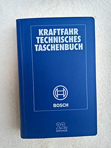Kraftfahrtechnisches Taschenbuch.: Bauer, Horst (Hg.):