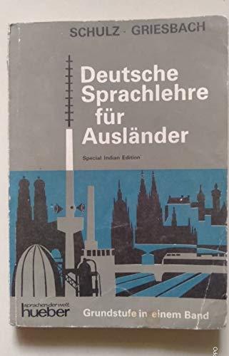9783190010103: Deutsche Sprachlehre