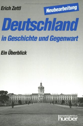 9783190012008: Deutschland in Geschichter Gegenwort