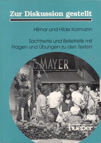 9783190013241: Zur Diskussion Gestellt: Lehrbuch