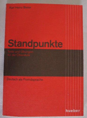 9783190013302: Standpunkte: Lehr- Und Arbeitsbuch