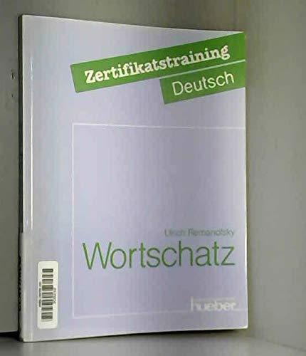 9783190014897: Wortschatz - Ubungsbuch