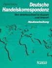 9783190014972: Deutsche Handelskorrespondenz