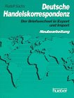 9783190014972: Deutsche Handelskorrespondenz (German Edition)