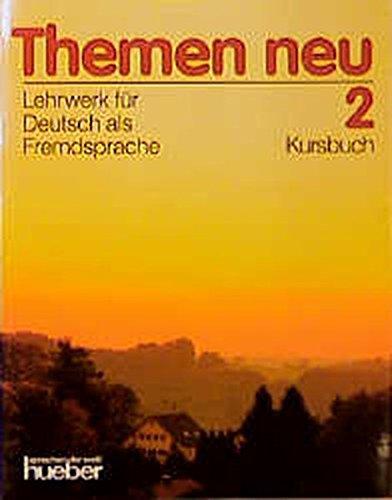 9783190015221: Themen neu. Kursbuch. Per le Scuole superiori: 2