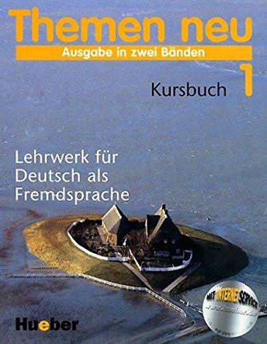 9783190015665: Themen Neu 1: Lehrwerk Fur Deutsch Als Fremsdsprache Kursbuch (German Edition)