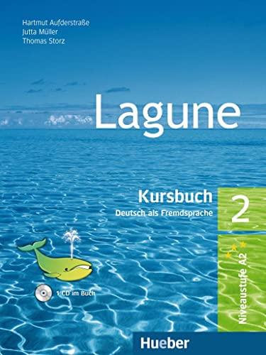 9783190016259: Lagune: Kursbuch mit audio-CD 2