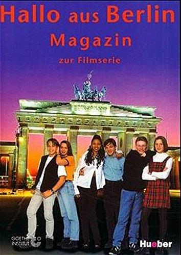 9783190016488: Hallo Aus Berlin: Lehrerpaket (Lehrerbuch, Schulermagazin, Kassette, Video)