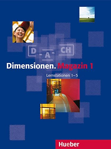 9783190016815: Dimensionen: Lernpaket 1 (Magazin, Lernstationen 1-5, Cds MIT Sprechubungen) (German Edition)