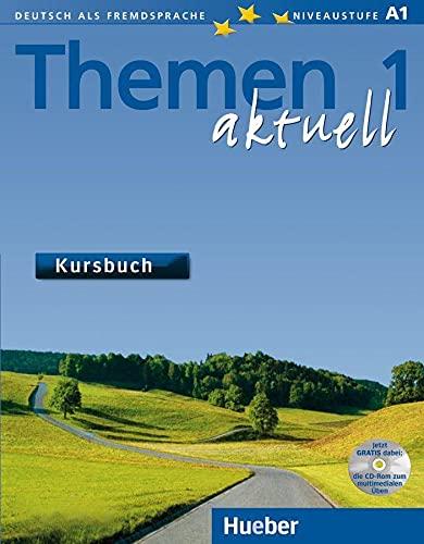 9783190016907: Themen aktuell 1. Kursbuch: Lehrwerk für Deutsch als Fremdsprache. Niveaustufe A 1. Ausgabe in 3 Bänden [Lingua tedesca]: Vol. 1
