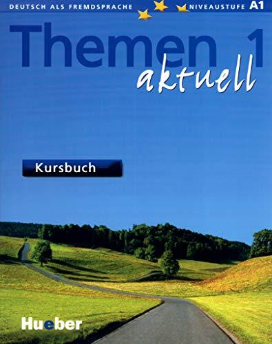 9783190016907: Themen Aktuell: Kursbuch 1 mit CD-Rom (Text Book + CD Rom)