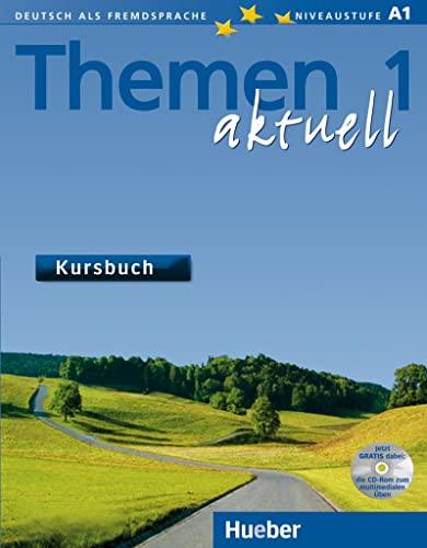 Themen Aktuell: Kursbuch 1 mit CD-Rom (German: Aufderstrasse, Hartmut