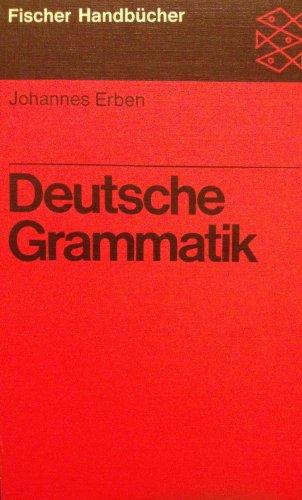 9783190017133: Deutsche Grammatik