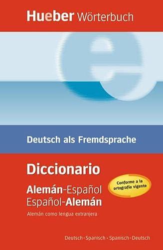 9783190017386: HUEBER WÖRTERB.Dic.biling.(al-esp-al)