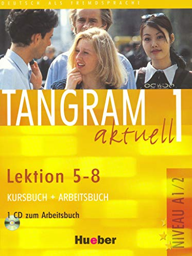 9783190018024: Tangram aktuell. Lektion 5-8. Kursbuch-Arbeitsbuch. Per la Scuola magistrale. Con CD Audio: 1