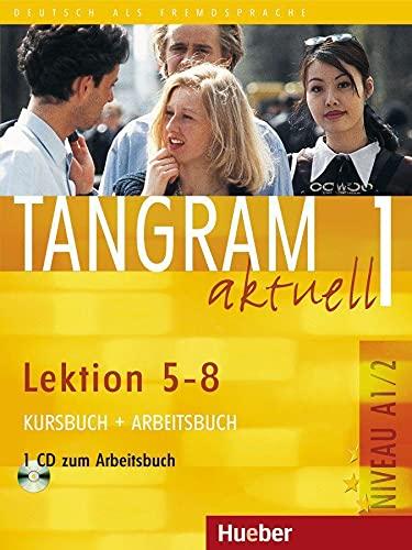 9783190018024: Tangram Aktuell: Kurs - Und Arbeitsbuch 1 - Lektion 5-8 MIT CD Zum Arbeitsbuch