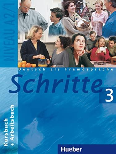 9783190018062: Schritte 3. Kursbuch und Arbeitsbuch: Deutsch als Fremdsprache. Niveau A 2/1