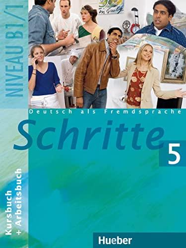9783190018086: Schritte 5. Kursbuch und Arbeitsbuch. Niveau B1 / 1: Deutsch als Fremdsprache