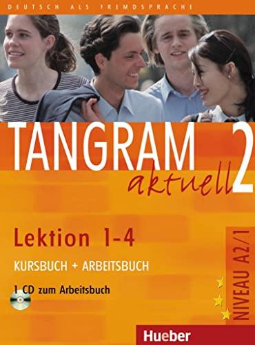 9783190018161: Tangram aktuell. Lektion 1-4. Kursbuch-Arbeitsbuch. Per la Scuola magistrale. Con CD Audio: 2