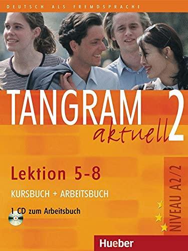 9783190018178: Tangram aktuell: Kurs- und Arbeitsbuch 2 - Lektion 5-8 mit CD zum Arbeitsbuch