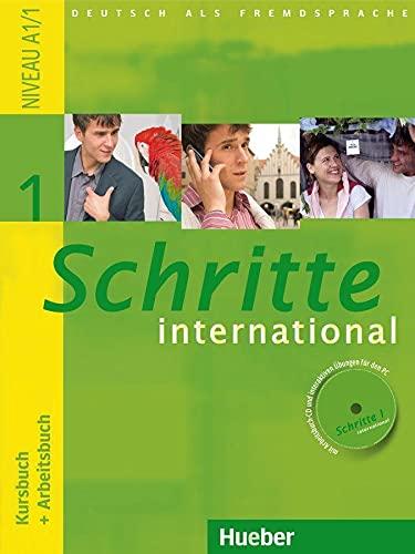 9783190018512: Schritte international. Kursbuch-Arbeitsbuch. Per le Scuole superiori [Lingua tedesca]: 1