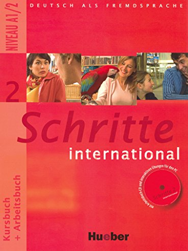 9783190018529: Schritte international. Kursbuch-Arbeitsbuch. Per le Scuole superiori: 2