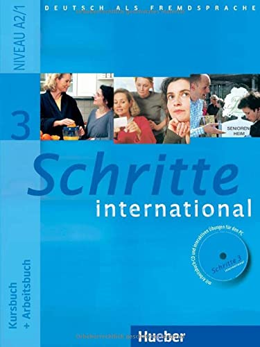 9783190018536: Schritte international. Kursbuch-Arbeitsbuch. Per le Scuole superiori: 3