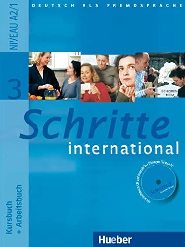 Schritte International: Kursbuch und Arbeitsbuch 3 mit: Verlag, Klett