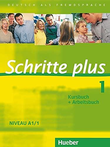 9783190019113: Schritte plus 1. Niveau A1/1. Kursbuch + Arbeitsbuch: Deutsch als Fremdsprache