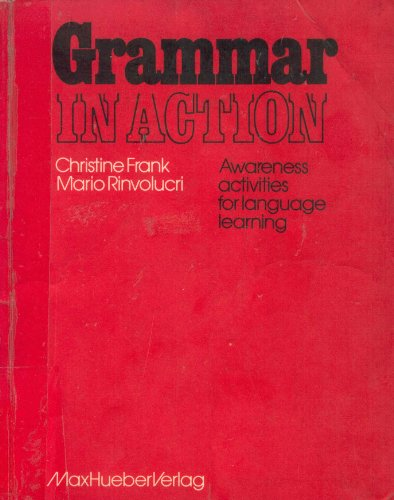 9783190023400: Grammar in Action. Awareness activities for language learning