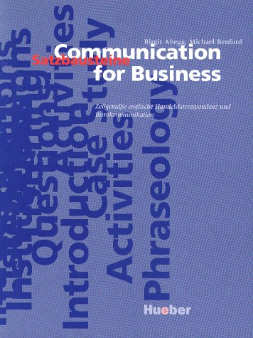 9783190026173: Communication for Business, Lehrbuch