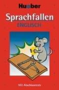 9783190026470: Sprachfallen Englisch: Mit Abschlusstests