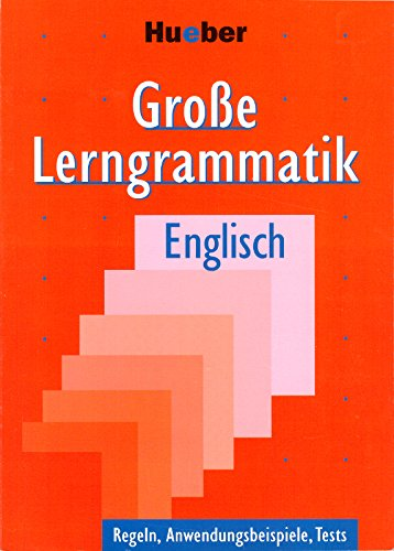 9783190026579: Große Lerngrammatik Englisch: Regeln, Anwendungsbeispiele, Tests