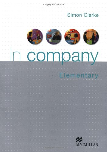 9783190028658: In company - Elementary / Students Book