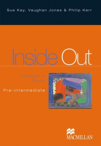 9783190028726: Inside Out Pre-intermediate. Students Pack