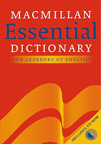 9783190028764: Macmillan Essential Dictionary for Learners of English. Britisches Englisch. Inkl. CD-ROM.