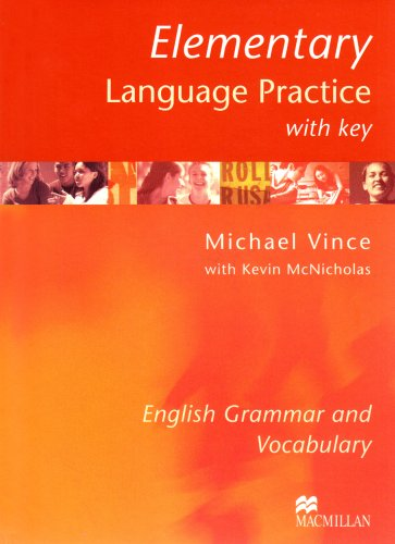 9783190028863: Elementary Language Practice. With Key